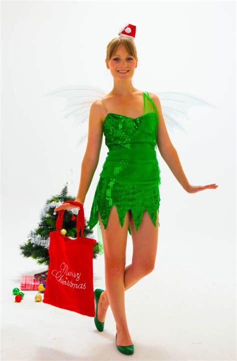 geeky girl christmas tinkerbell