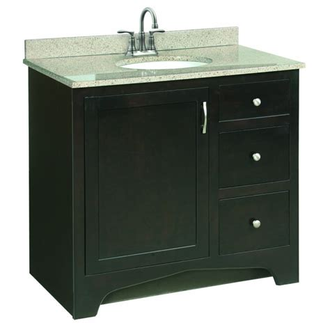 design house bathroom vanity design house 539619 ventura 36 quot wood vanity cabinet only espresso