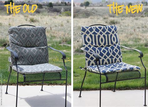 How To Make Patio Furniture Cushions Make Your Own Reversible Patio Chair Cushions Make It And It