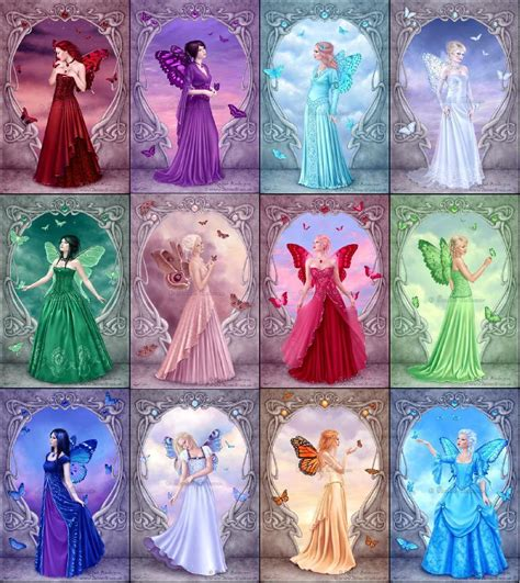 birthstones fairies birthstone fairies