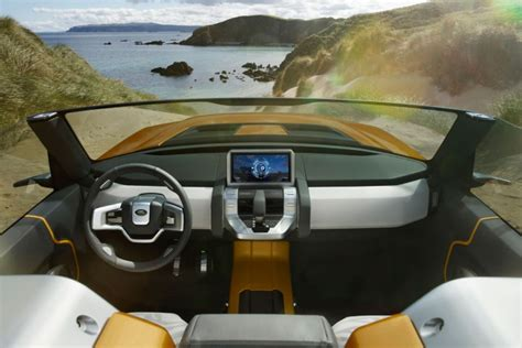 land rover dc100 interior land rover dc100 and dc100 sport concepts car design