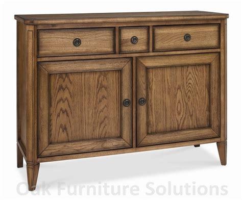 sophia oak narrow sideboard oak furniture solutions