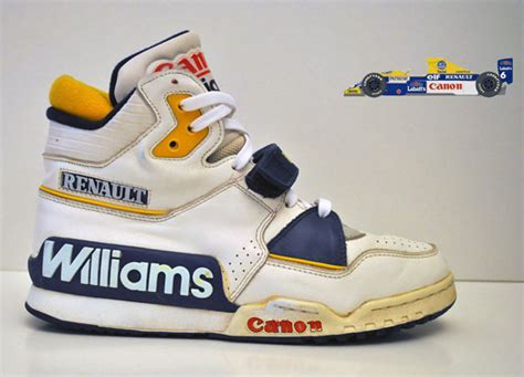 renault williams vintage racing sneaker sneakernews com