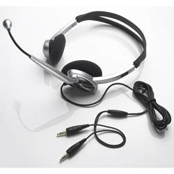 voice recognition hp 3 stereo headset with microphone hp3