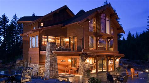 style house idaho mountain style home mountain architects hendricks