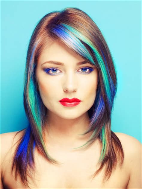 Highlights lowlights hair color amp hairstyles for medium length hairs