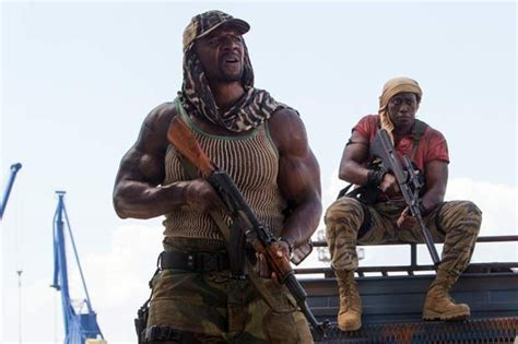 terry crews expendables interview expendables 3 star terry crews on stunts