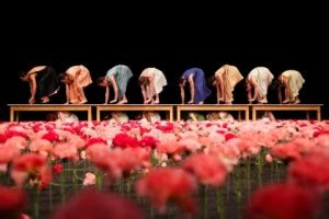 Review Tanztheater Wuppertal Pina Bausch In Nelken
