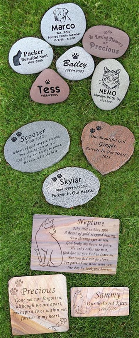 memorial stones for dogs 418 best pet images on