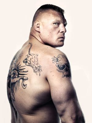 brock lesnar back tattoo brock lesnar skull www pixshark images