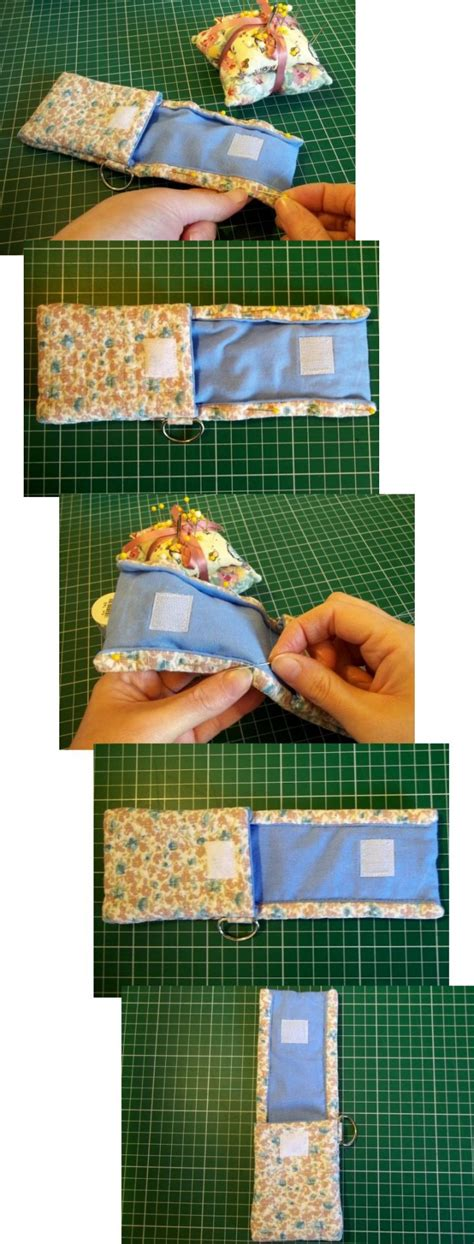 how to make a mobile cover with cloth things to make and do fabric mobile phone