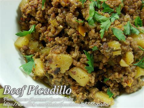 printable pinoy recipes beef picadillo recipe panlasang pinoy meat recipes