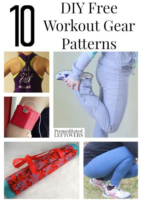 diy free 10 diy free fitness gear patterns