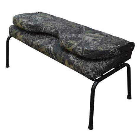 camo bench seat wise seating 43 quot commander ii camouflage bench fold down