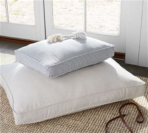 pottery barn dog bed wheaton stripe dog bed cover pottery barn