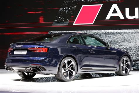 new audi rs5 2018 2018 audi rs5 looks in geneva but is 450 hp enough