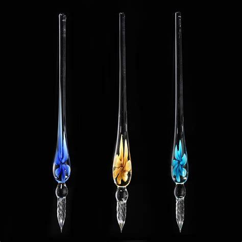 Glass Pen Ink vintage glass dip ink pen pen signature pen with