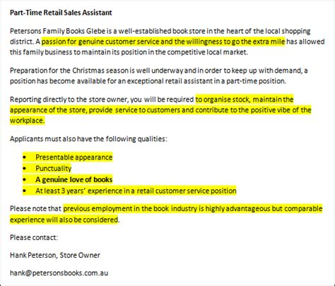 How To Write An Effective Cover Letter For A Job