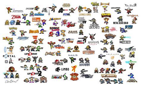 lade megaman un centenar de personajes al estilo mega pixfans