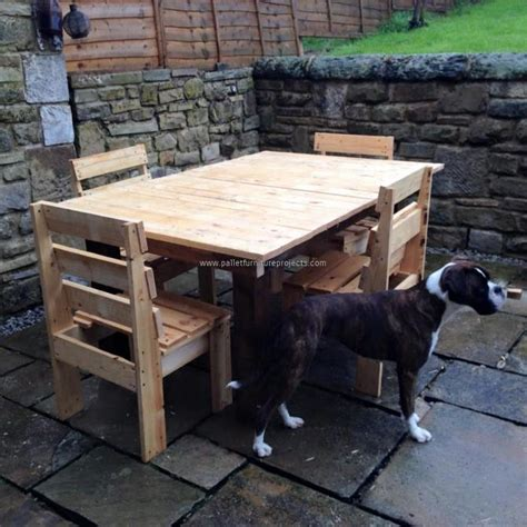 Wood Pallet Patio Furniture Diy Pallet Wooden Outdoor Furniture Pallet Furniture Projects