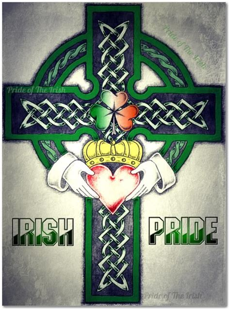 irish pride tattoos pride for my beloved friend dale who has left u