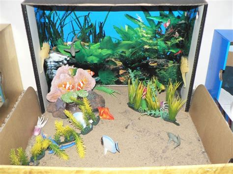 printable fish for diorama 29 best shoe box projects images on pinterest ocean
