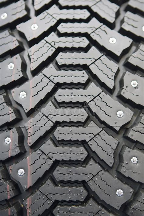 winter rubber wheels  torns stock photo image  black details
