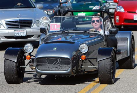 Simon Auto by Simon Cowell Cruises In His Caterham 7 Cars