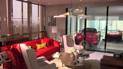 super luxury singapore apartment with in room car parking hamilton scotts sky garage by als youtube