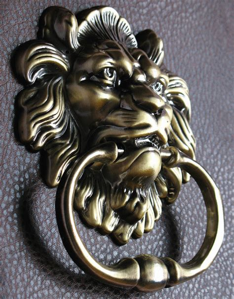 lion decor home superb lion home decor 5 antique lion door knocker