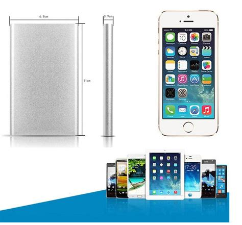 Powerbank Roker 6000 Mah Original Slim 6000mah battery charger powerbank slim polymer power bank for iphone 6 6s forsamsung