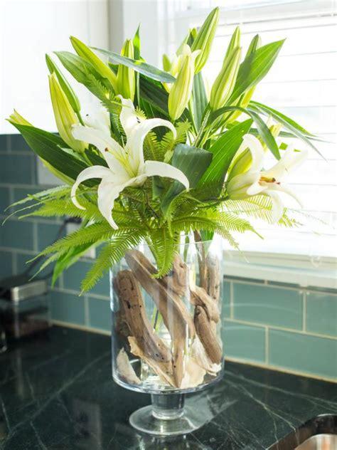 decorate  glass vase hgtv