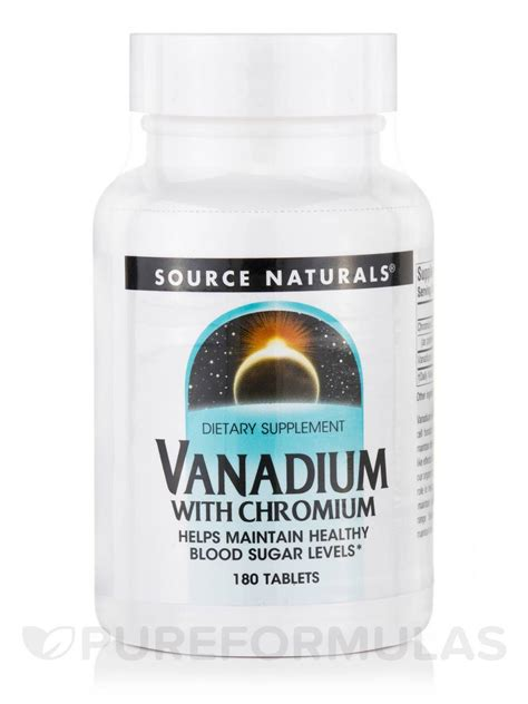 chromium vanadium vanadium w chromium 180 tablets