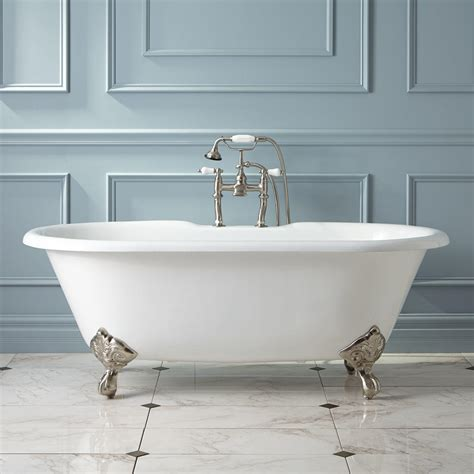 in the bathtub clawfoot tub accessories signature hardware