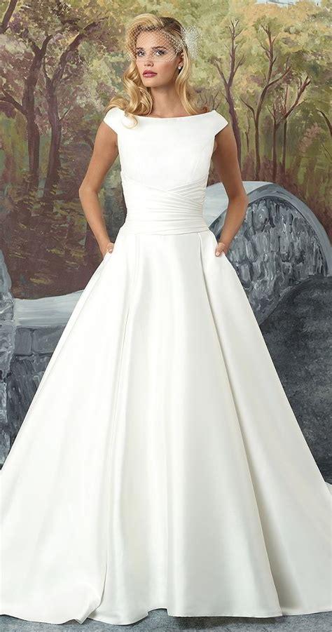 Sabrina Chiffon Grace justin fall 2017 wedding dresses with modern