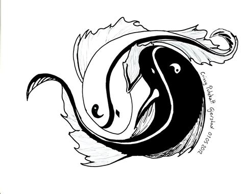 yin yang fish tattoos designs yin yang images designs