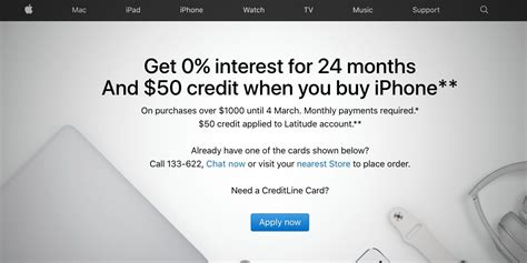 apple launches iphone financing promo in australia 0 interest for 24 months and a 50 credit
