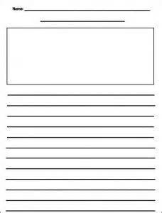 writing templates for 3rd grade writing draft sheet free ela 39