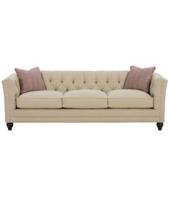 tufted fabric upholstered sleeper sofa