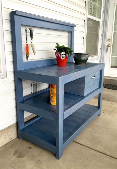 potting benches uk diy potting bench plans bench plans bench and woodworking
