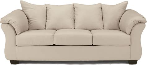 Pull Out Bed Sofa Size by Darcy Microfiber Sofa With Optional Pull Out Size Bed