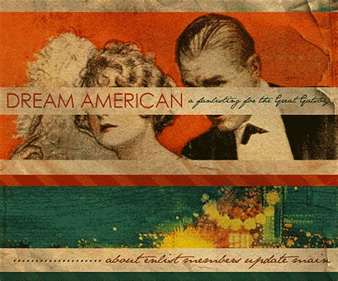great gatsby themes the american dream 1920s american dream gatsby quotes quotesgram