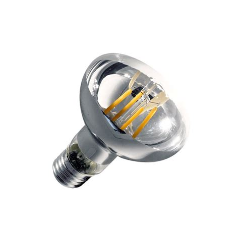 eclairage led dimmable oule led e27 dimmable filament r80 6w ledkia