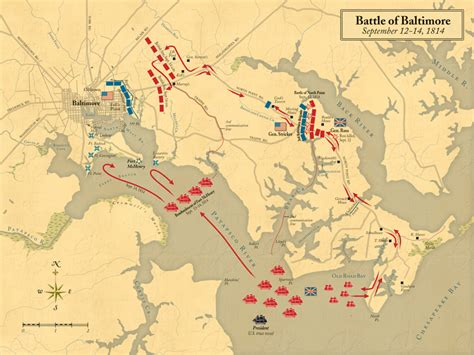 printable map of baltimore battle of baltimore map sheads