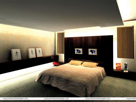 Interior Designed Bedrooms Interior Exterior Plan Clutter Free Modern Bedroom Design