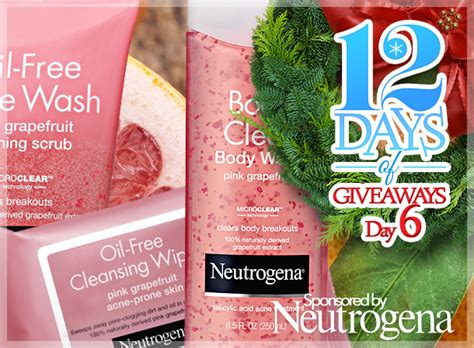 Beauty Blog Giveaways - 12 days of giveaways day 6 7 ways to win a neutrogena pink grapefruit combo ends