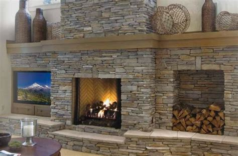 Southern Fireplaces by Southern Ledgestone Fog Cultured By Boral