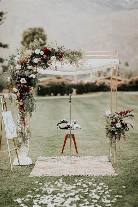 Ideas for COPPER PIPES Wedding Ceremony Arches   Style