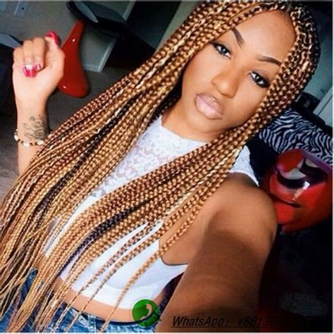 medium box braids with color 25 best ideas about medium sized box braids on