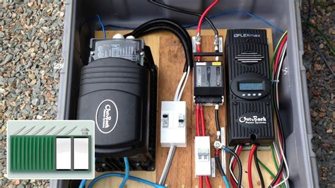 hooking up solar panels to house shipping container house install a charge controller and
